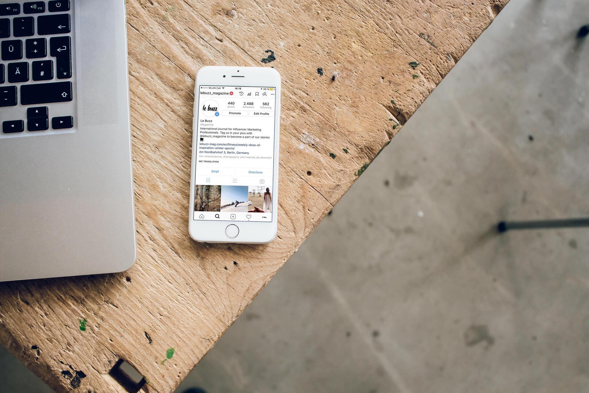optimiser compte instagram pro